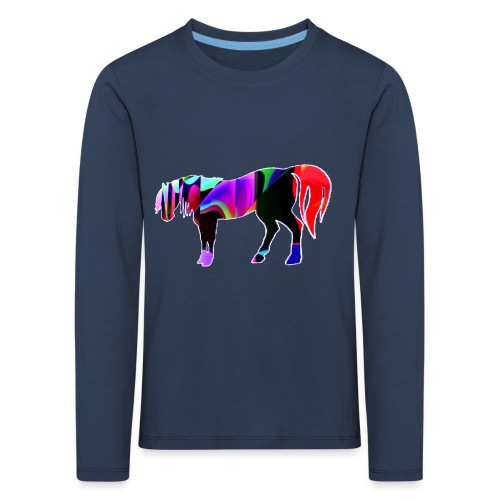 Cavalo triste - T-shirt manches longues Premium Enfant