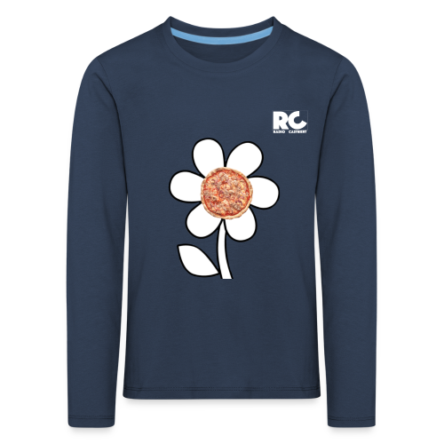 Pizzaflower Edition - Kinder Premium Langarmshirt