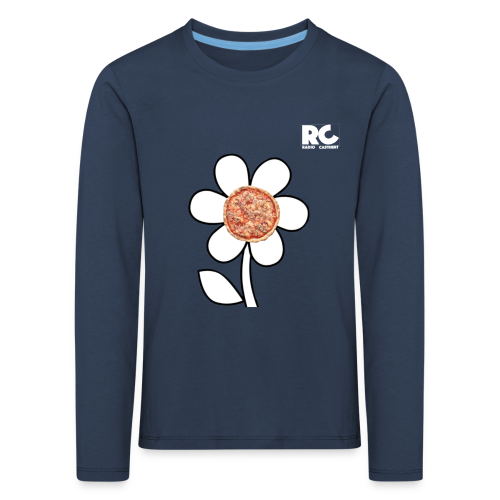 Pizzaflower Edition - Kinder Premium Langarmshirt