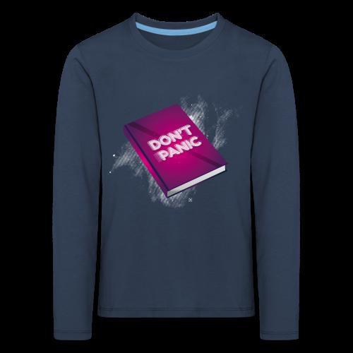 Don't panic - Camiseta de manga larga premium niño