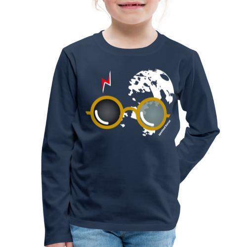 Spotted.Horse Open - Maglietta Premium a manica lunga per bambini