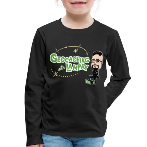 Geocaching With Lampay - T-shirt manches longues Premium Enfant