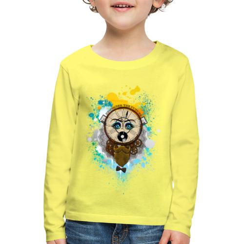 Remember the futur Souviens toi du futur - T-shirt manches longues Premium Enfant