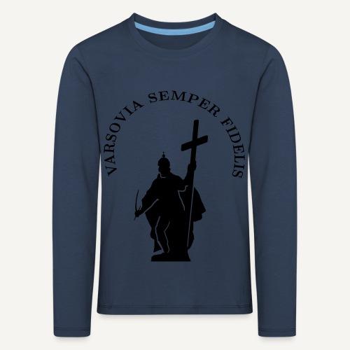 varsoviasf - Koszulka dziecięca Premium z długim rękawem