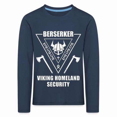 berserker viking homeland security - Camiseta de manga larga premium niño