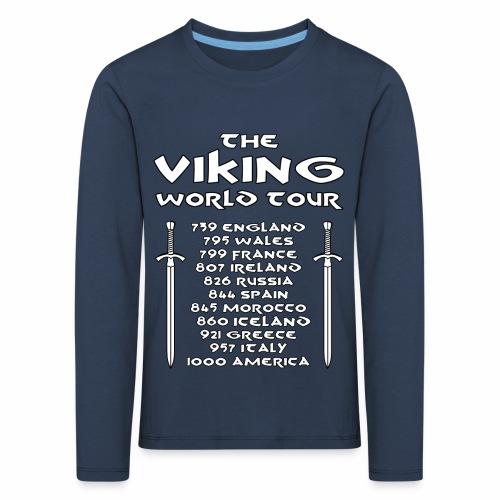 Viking world tour - Camiseta de manga larga premium niño