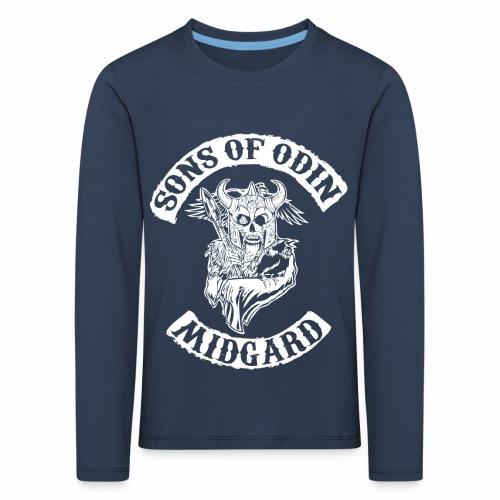 Sons of odin - Camiseta de manga larga premium niño