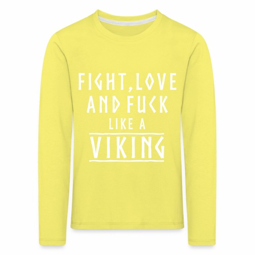Like a viking - Camiseta de manga larga premium niño