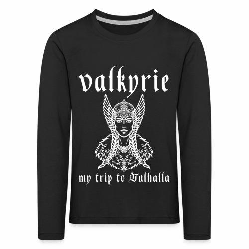 Valkyrie to Valhalla - Camiseta de manga larga premium niño