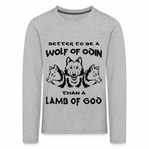 Wolf of Odin - Camiseta de manga larga premium niño