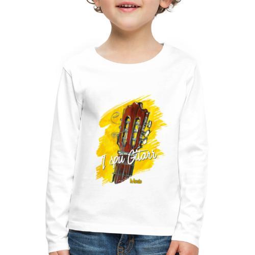 I spü Gitarr - limited edition '19 - Kinder Premium Langarmshirt