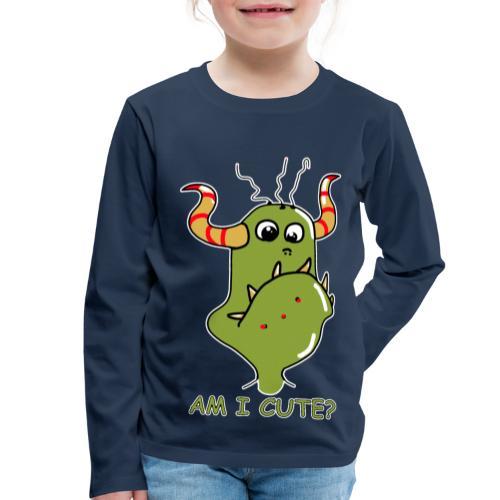 Cute monster - Kids' Premium Longsleeve Shirt