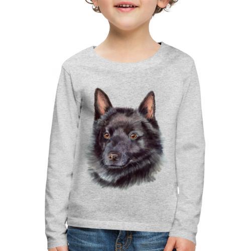 schipperke - akv - Børne premium T-shirt med lange ærmer