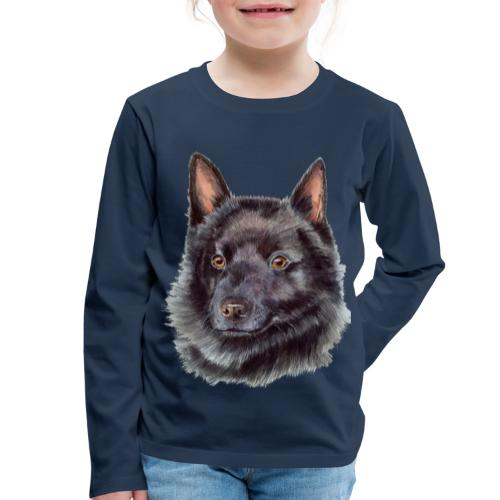 schipperke - M - Børne premium T-shirt med lange ærmer