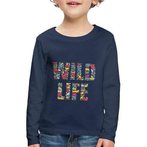 Wild Life - Kinder Premium Langarmshirt
