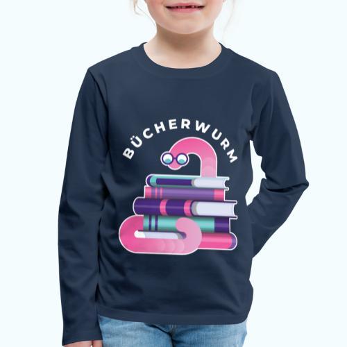 Bücherwurm - Kids' Premium Longsleeve Shirt
