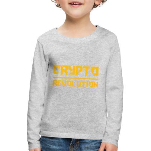 Crypto Revolution III - Kids' Premium Longsleeve Shirt