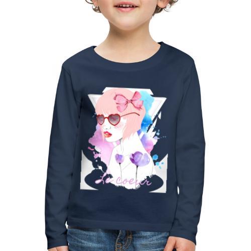 Le coeur - T-shirt manches longues Premium Enfant