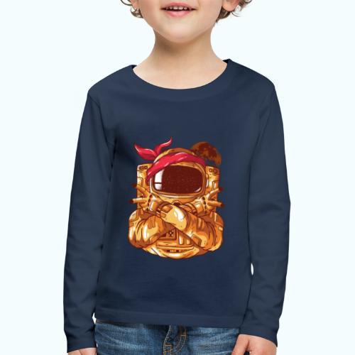Rebel astronaut - Kids' Premium Longsleeve Shirt