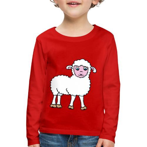 Minos le petit agneau - T-shirt manches longues Premium Enfant