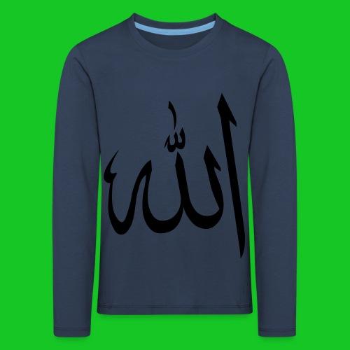 Allah - Kinderen Premium shirt met lange mouwen
