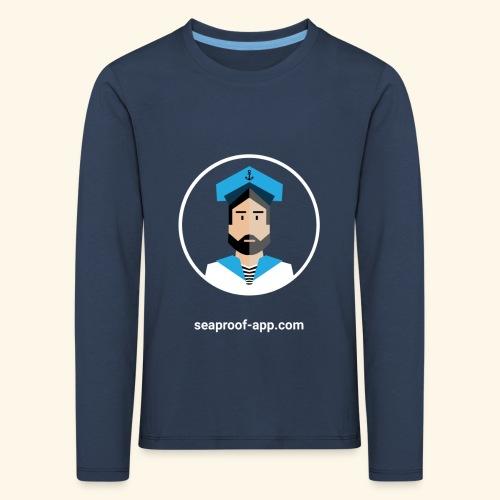 SeaProof App - Kinder Premium Langarmshirt