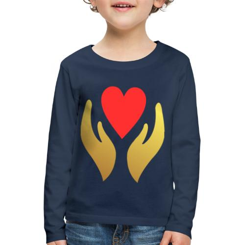 Our Sacred Hearts - Kids' Premium Longsleeve Shirt