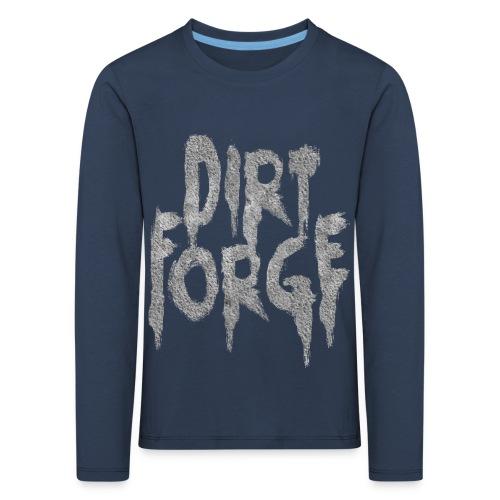 Dirt Forge Gravel t-shirt - Børne premium T-shirt med lange ærmer