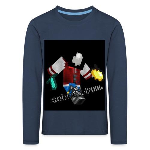 Sebastian yt - Børne premium T-shirt med lange ærmer