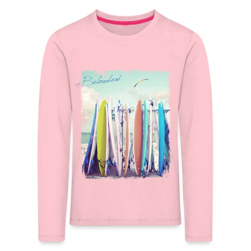 Surfs up - Kinder Premium Langarmshirt