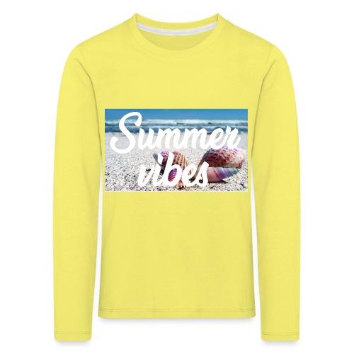 Summervibes - Kinder Premium Langarmshirt