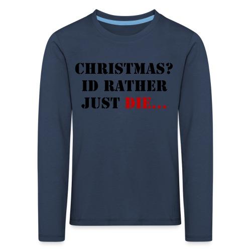 Christmas joy - Kids' Premium Longsleeve Shirt