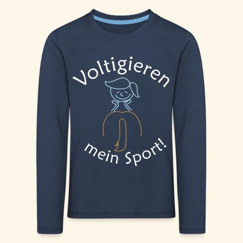 voltiratingen - Kinder Premium Langarmshirt