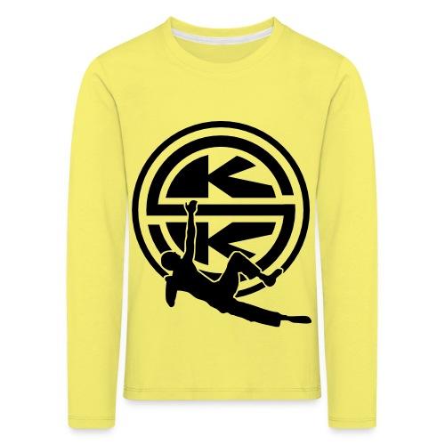 SKK_shield - Långärmad premium-T-shirt barn