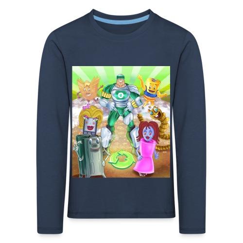 Captain Reece Icle - Kids' Premium Longsleeve Shirt