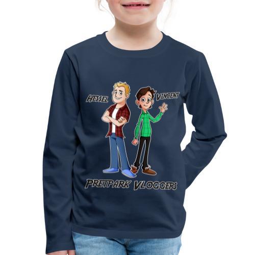 Hessel_Vincent - Kinderen Premium shirt met lange mouwen