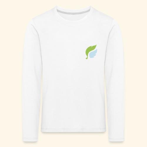 Akan White - Lasten premium pitkähihainen t-paita