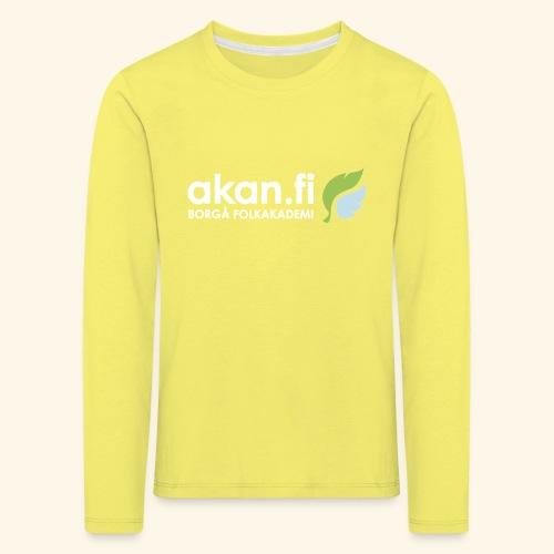 Akan White - Långärmad premium-T-shirt barn
