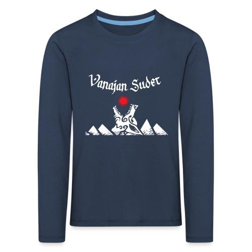 Auringonsyöjä - Lasten premium pitkähihainen t-paita