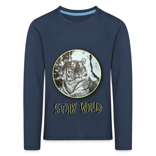 tiger5 - Kinder Premium Langarmshirt