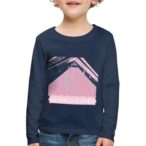Helsinki light pink - Kids' Premium Longsleeve Shirt