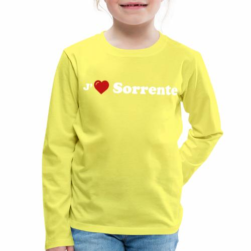 J'aime Sorrente - T-shirt manches longues Premium Enfant