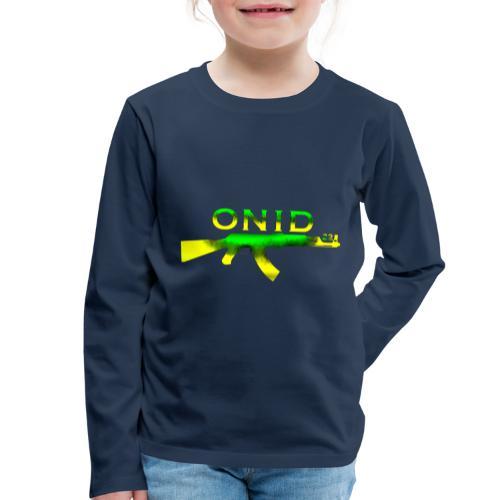 ONID-22 - Maglietta Premium a manica lunga per bambini