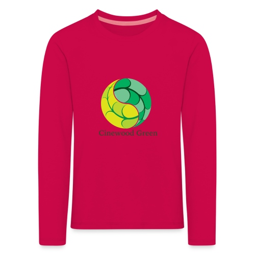 Cinewood Green - Kids' Premium Longsleeve Shirt