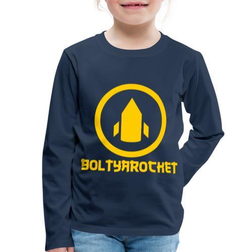 Bolt Ya Rocket - Kids' Premium Longsleeve Shirt