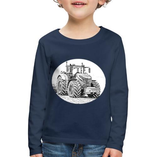 Ackergigant - Kinder Premium Langarmshirt