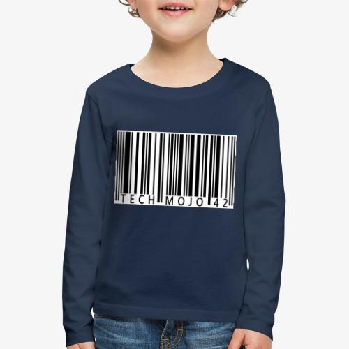 TM graphic Barcode Answer to the universe - Kids' Premium Longsleeve Shirt