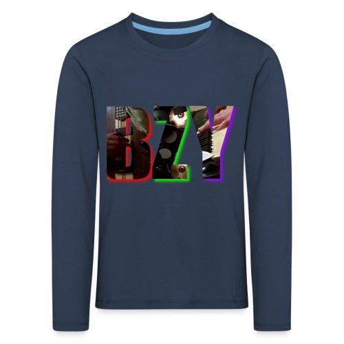 BZY - OFICJALNY PROJEKT - Koszulka dziecięca Premium z długim rękawem