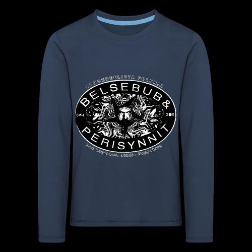 Belsebub&Perisynnit - Lasten premium pitkähihainen t-paita