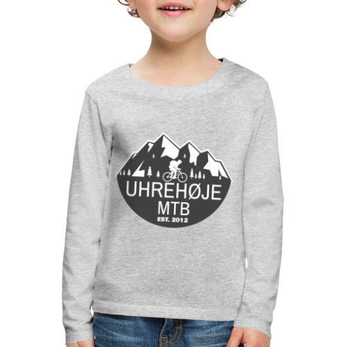 UhreHøje MTB - Børne premium T-shirt med lange ærmer